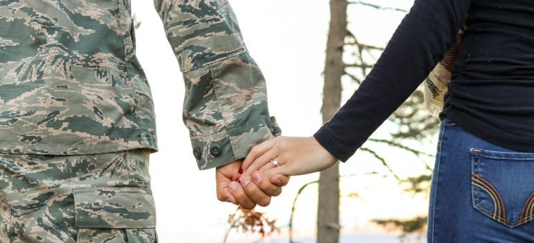 Military movers keep families together